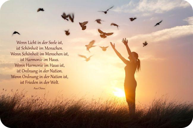 Licht in der Seele - Frieden auf der Welt