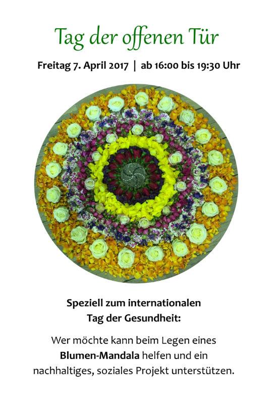 Tag der offenen Tür bei Selbst-Beflügelt, Irène Gerber. Praxis für Rebalancing & Feng Shui Beratungen. Freitag 7.4.2017.